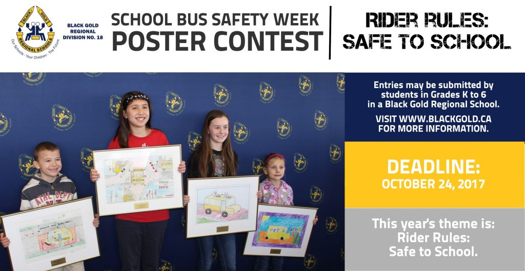 School Bus Safety Week Poster Contest - 2017